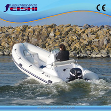 Rib 300 with CE outboard motor boat inflatable rib boat