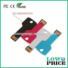 2015 New product gold key 3.0 usb flash drives bulk cheap 64gb wholesale
