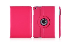 """2015 Hot Luxury 360 degree rotation tablet leather case for ipad 9.7"""""""