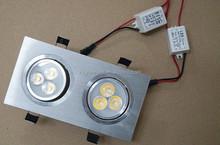 indoor led light,led grille light 6W,led grille light for store