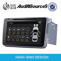 wince car dvd player for VW /Skoda/Seat car with HD 1024X600 capacitive screen