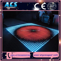 ACS 2015 Popular Wedding Party Dancing Hall Led Digital Panel Slim Interactive Floor