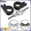 "BJ-FP216-057 New arrival 1.5"" CNC Footpeg Clamps Black Aluminum Foot Peg For Suzuki INTRUDER"
