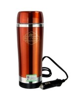 Boiling flask 304 Stainless steel 2014 electric water heater for car with cigarette lighter/12v with car hot water bottle