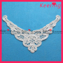 Wholesale beautiful and cheap accessories beaded lace trimmings for dress WLS-472