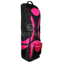 Ladies' Pink Golf Travel Bag with Wheels