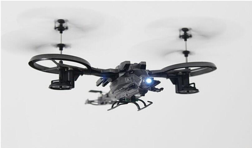 Детский вертолет на радиоуправление YADE ATTOP YD711 helikopter 2.4g 4ch GYRO yd/711 rc