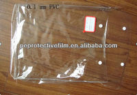 Cheap PVC plastic button curtain packaging bag with hook