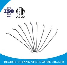 35/0.8 Hooked End Steel Fibre used in concrete for reinforcement ASTM A 820 standard