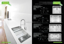 Stainless Steel Kitchen Sink Handmade Single & Double Customized