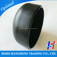 Ansi b16.9 bw pipe fittings steel weld pipe cap