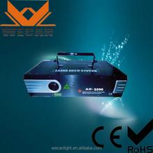 best price ! 2w stage /disco spot laser light
