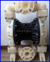 Air Operated Double Diaphragm Pump For Electroplating Chemical Solution