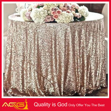 1 DAY Ship Blush Champagne, Gold or Vintage Gold Sequin Tablecloths, Runners and Overlays table cloth banquet table gold