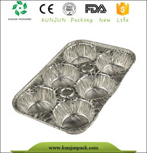 container type and aluminum material disposable aluminum foil muffin pan