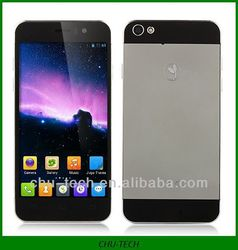 JIAYU G5 Smartphone Android 4.2 MTK6589T 4.5 Inch Gorilla Glass Screen 3G OTG 13.0MP Camera- Black & Silver