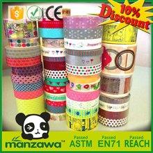 Custom writing and printing japanese paper masking tape