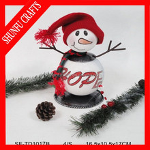 Wholesale from China q tip snowflakes kids christmas ornaments
