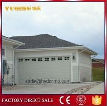 YQG-01 sectional garage door, door in wrought iron outdoor