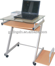 mesa de ordenador portátil de vidrio( dx- 8811)