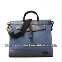high quality mens cross body blue bag with adjustable strap