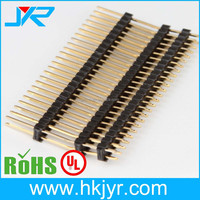 Board spacers pin header pitch 2.54mm dual row V/T type CONNECTOR