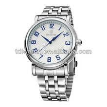 2014 Hot Selling Classic Arabic Numbers Stainless Steel Watches Men