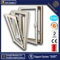 aluminio incline por la ventana