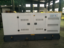 80kw CE approved water-cooled diesel soundproof generator