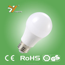 High Quality TUV-GS, CE, RoHS Approved Die-casting aluminium Thermal Plastic B55AP 8W 638LM LED Bulb E27