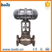 De dos vías neumática válvulas de control, neumática de control de vapor