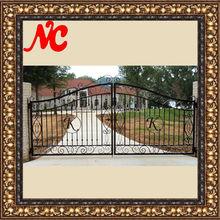Unique design metal farm gates