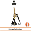 Fashion new design high quality gold ak47 shisha hookah wholesale