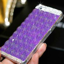 Gorgeous Rhinestone Case for iPhone 5,for iPhone 5s Durable Crystal Diamond Shell Back Cover