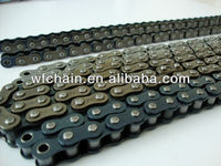 Heat treatment 45Mn motorcycle chain for Colombia(420,428,428H,520)-Motorcycle spare parts