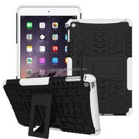 Buy direct from china Rugged Hard Robot Back Cover Stand Holder kickstand armor cover for ipad mini 4 china suppliers
