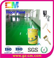 Sand Mortar Chemical Resistance Epoxy Floor Paint