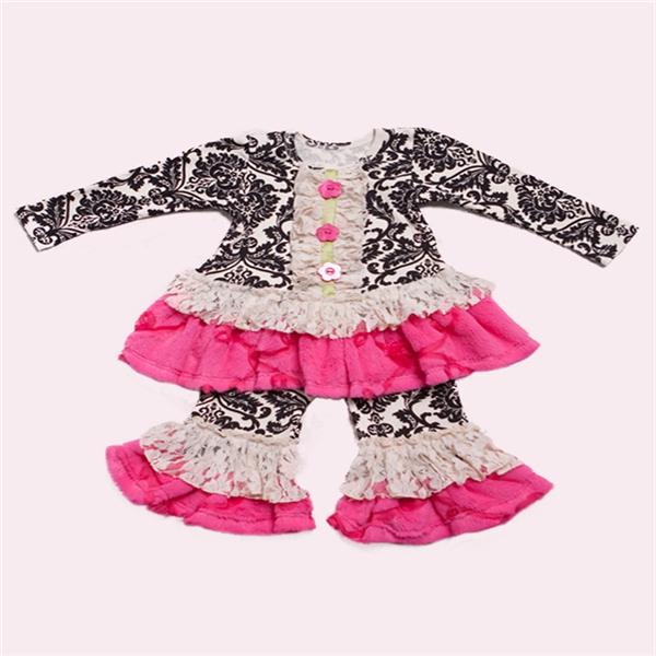 Fashion Kids Old Fashioned Baby Winter Long Sleeve Ruffle