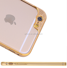 Perfume bottle phone case Metal Bumper For iPhone 6 Plus phone case To protect the camera,aluminum camera lens case