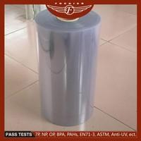 Shanghai Fochier food grade pvc sheet /rolls rigid pvc film/ transparent pvc sheet