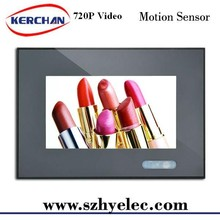 7 inch lcd signage for market with motion sensor digital photo frame with CE/ROHS/FCC
