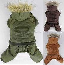 Pet Dog Clothes Pet Apparel Dog Clothing Winter Warm Coat Size XS /S/M/L/XL 3 Colors