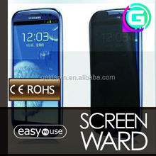 American Material ! 3M Privacy Screen Protector for Samsung Galaxy S4