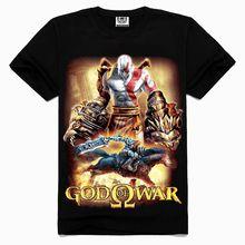 2015 OEM Rock Band 3d digital superman print t-shirt God Of War t-shirt rock