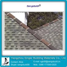 China most famouse SGB brand asphalt shingle/roofing shingle