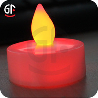 Hot Selling Valentine Led Candles Light Flameless Led Bulb Wedding Party LED light candle Mini Crafts Scented Colored