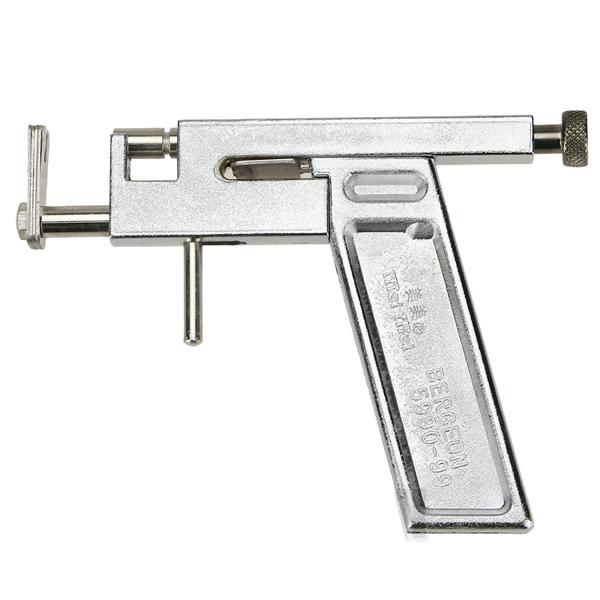 un piercing gun acier oreille goujons body tattoo piercing gun 49 paires de clous d 39 argent kit. Black Bedroom Furniture Sets. Home Design Ideas