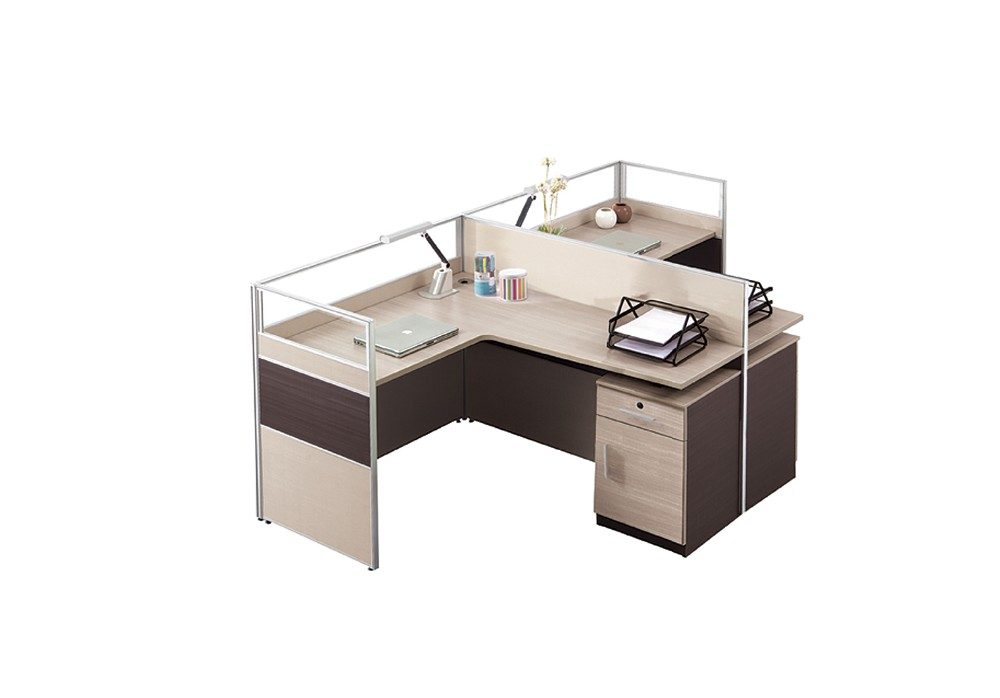 estndar gris oficina dimensiones t en forma de esquina escritorio con cajones de bloqueo