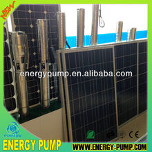 high efficiency DC Solar Pump 200w to 4500w for irrigating and water supply (Lorentz Quality)