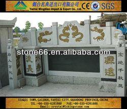 CN hotsale emerald pearl green granite monument